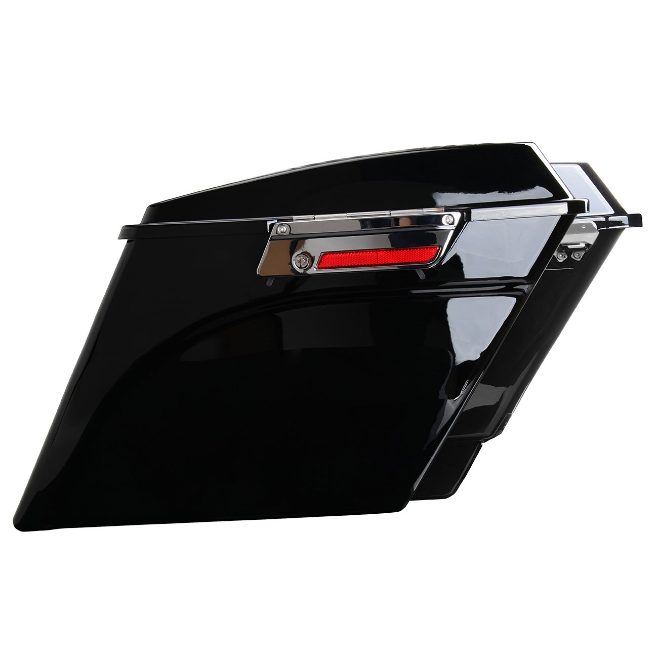 Ambienceo Stretched Extended Saddlebags Painted for 1993-2013 Harley Touring Electra Street Road Glide 1994 1995 1996 1997 1998 1999 2000 2001 2002 2003 004 2005 2006 2007 2008 2009 2010 2011 2012 13