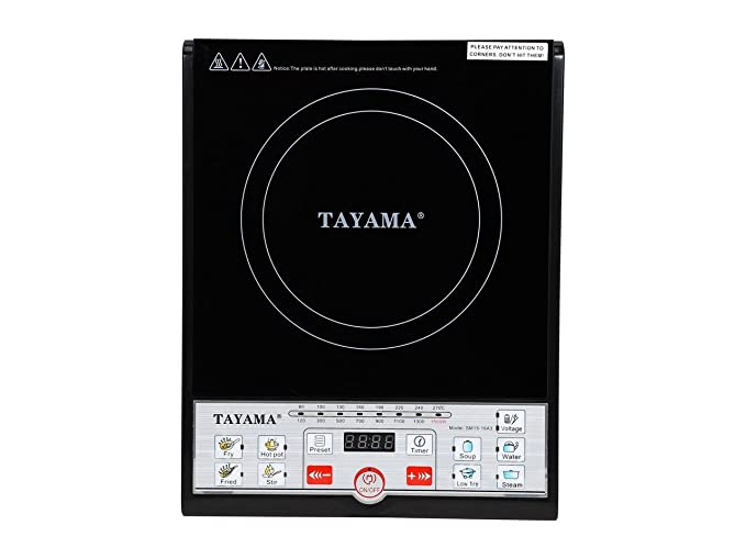 Amazon.com: Tayama SM15-16A3 cocina de inducción con ...