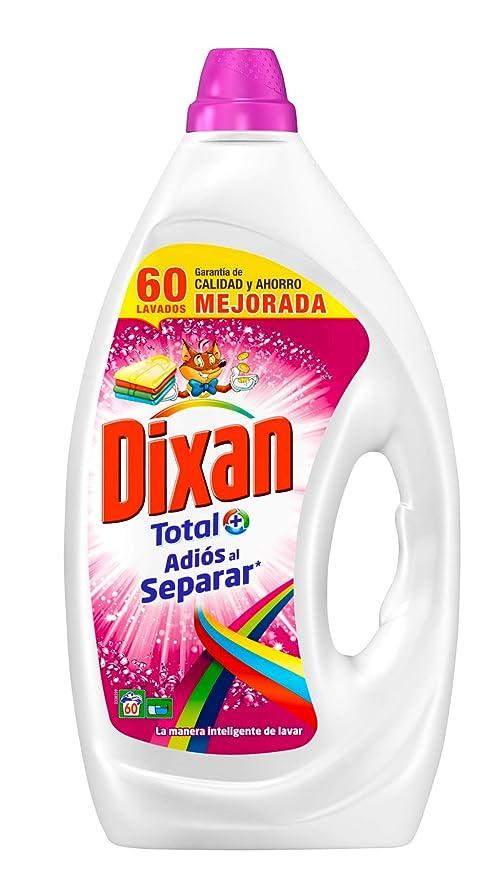 Dixan Adios al Separar Detergente - 40 Lavados (2 L): Amazon ...