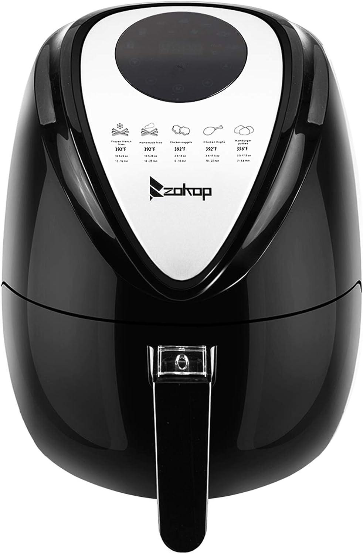 KAF1300P-D1 120V 1500W 2.85QT/2.7L Air Fryer Computer Model Black US Plug - Air Fryers that Cook, Crisp, Roast, Broil, Bake, Reheat and Dehydrate