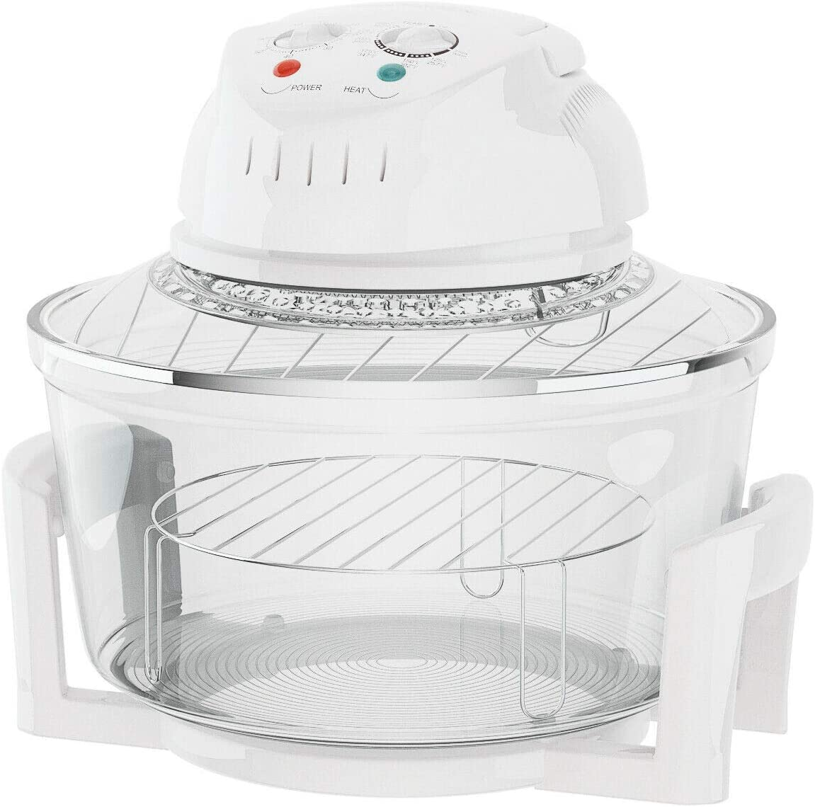 JF World 1300W Infrared Halogen Convection Turbo Oven