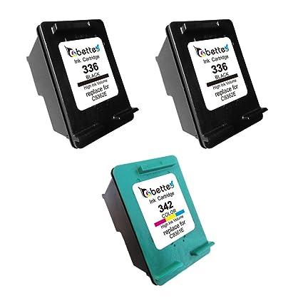 Bette Compatible HP 336 C9362E 342 C9361E (para Europa impresoras ...