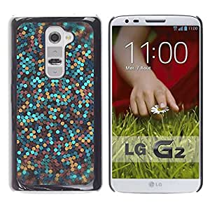 Impact Case Cover with Art Pattern Designs FOR LG G2 Glitter Gold Bronze Blue Clean Awesome Betty shop