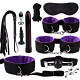 lā Vestmon 11 - Piece Set Nylon Leather SM Kit - New Plush Set Sexy Toy Suit Special Bundled Binding Novelty & Games