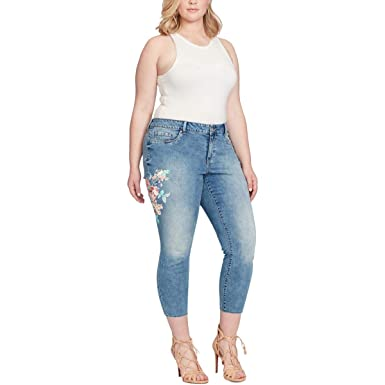 8e05d6a7f9b73 Image Unavailable. Image not available for. Color: Jessica Simpson Womens  Plus Kiss Me Jegging ...