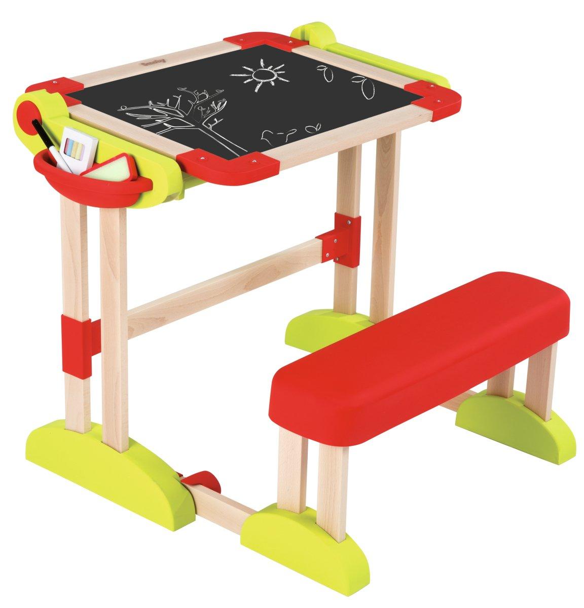 Smoby 7600028112 - Activity Banco Scuola Modulo Space in Legno con Accessori Simba Toys Italia S.p.A.