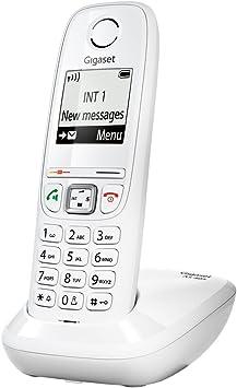 Gigaset AS405 - Teléfono Fijo DECT/Gap, Color Blanco [Versión Importada]: Amazon.es: Electrónica