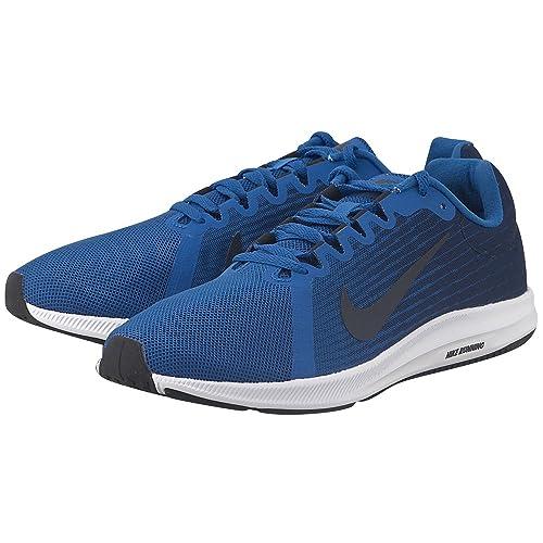 NIKE Downshifter 8 Blue SNEAKERS RUNNING Scarpe da ginnastica uomo Man