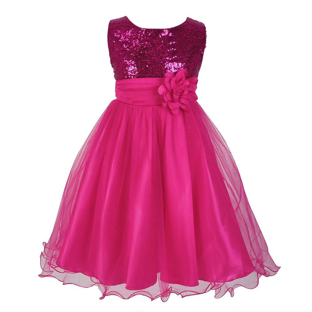 Little Girls Bridesmaids Dresses: Amazon.co.uk
