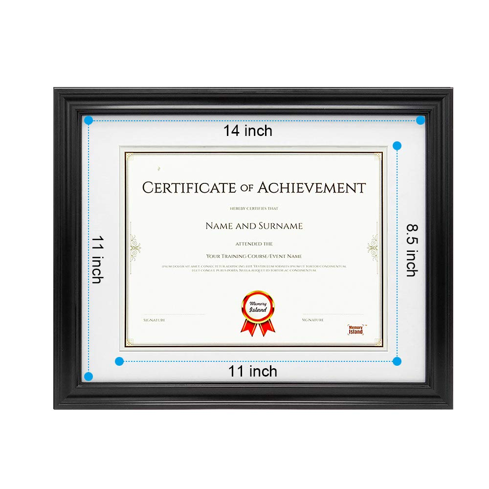 Picture Frames Vertical Or Horizontal Display Memory Island Document Diploma Frames 8 5x11 Wall Decor Frame Certificate Frames Black Set Of 4 Pack Glass Fronts Home Kitchen Touchsoft Co Uk