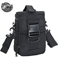CamGo Tactical Crossbody Messenger Shoulder Bag Casual Daypack Small Camera Case for Hiking Travel Hunting Trekking