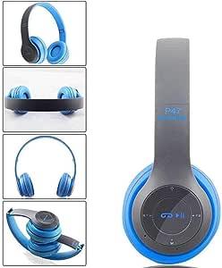 melysEU Auriculares Bluetooth Cascos Inalámbricos de Diadema con ...
