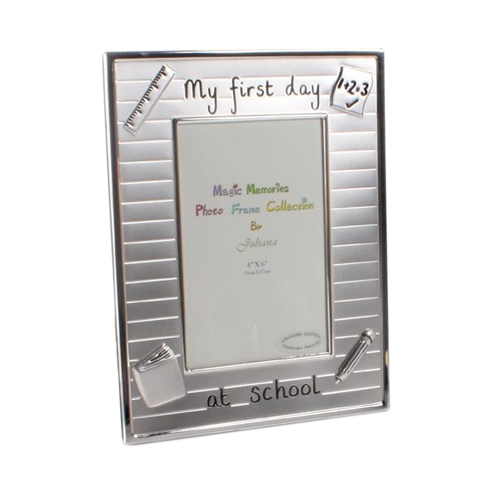 My First Day at School Photo Frame: Amazon.co.uk: Kitchen & Home