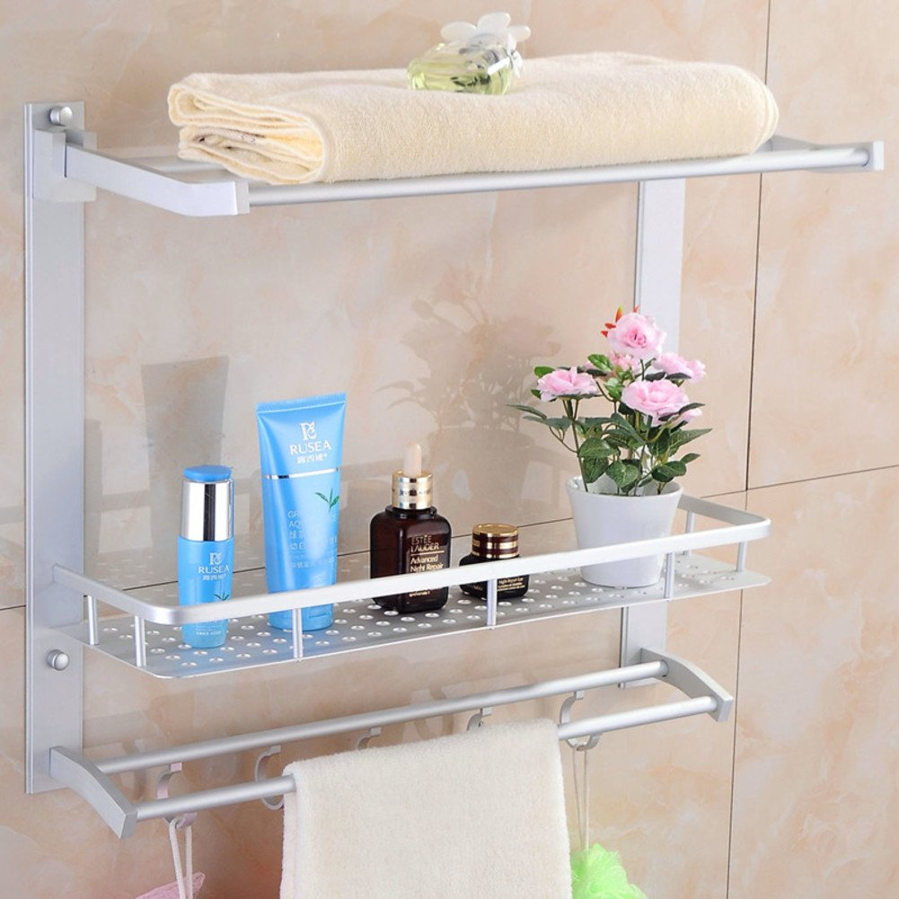 new The bathroom Towel rack/Space aluminum hanging/Bathroom racks-B