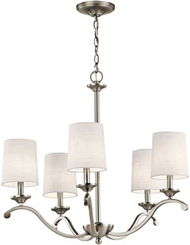 Kichler 43392ap versailles 2625 5 light chandelier in antique kichler 43392ap versailles 2625quot 5 light chandelier in antique pewter aloadofball Images