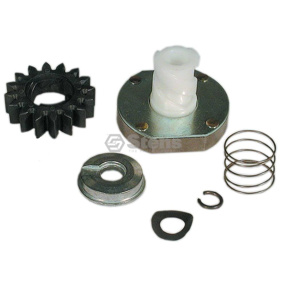 "Stens 435-859 Starter Drive Kit, Replaces Briggs and Stratton: 497606, 696541, 16 Teeth, 7-1/4"" Length, Composite Drive Gear"