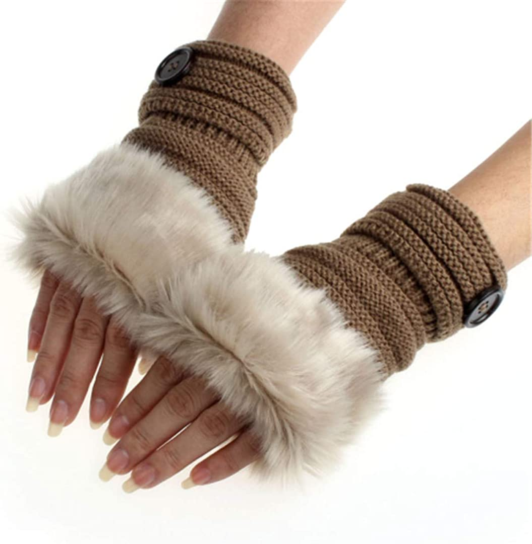Amaizng Winter Knitted Faux...