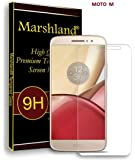 Marshland 9H Hardness 2.5D Round Edge Bubble-Free 0.33mm Thickness Anti Explosion Tempered Glass (Transparent)