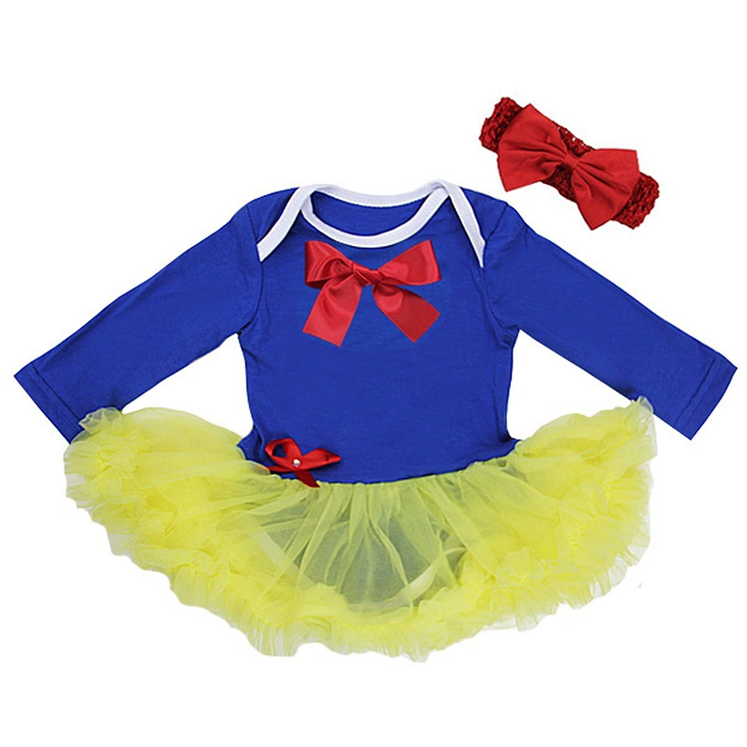 Baby Snow White Princess Costume Bodysuit