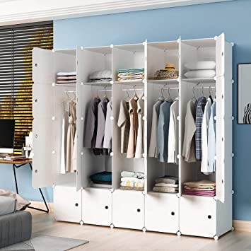 Amazon.com: JYYG Portable Clothes Closet Clothing Storage ...