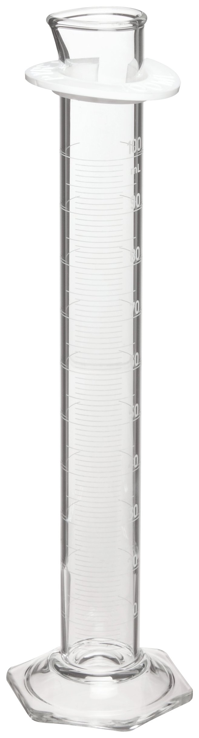 Corning Pyrex 3022-1L Glass 1000mL ''To Contain'' Graduated Single Metric Scale Calibrated Cylinder, with Pourout Top