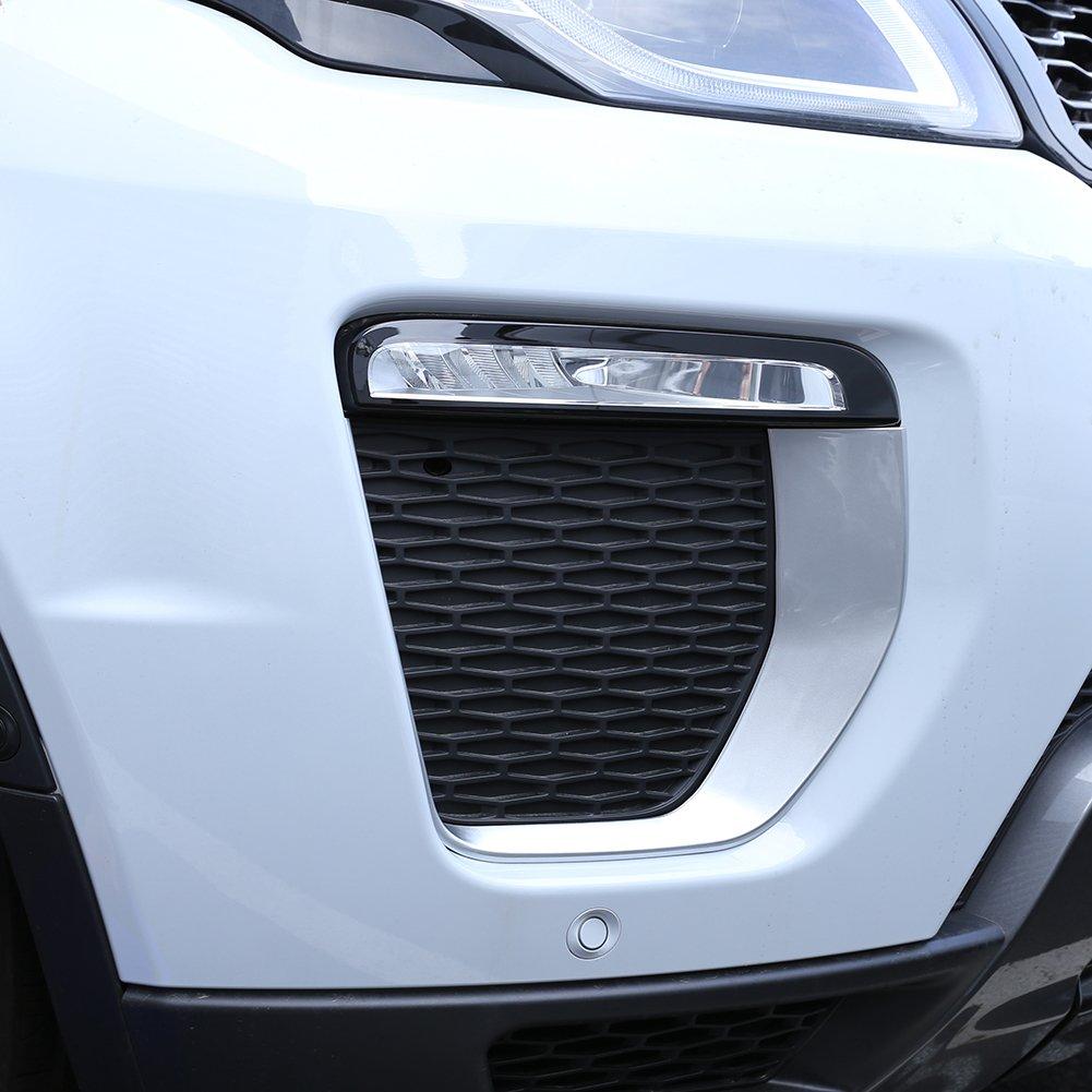 car-styling exterior accesorios luz antiniebla delantera marco embellecedor ABS cromado recién llegados 2pcs: Amazon.es: Coche y moto