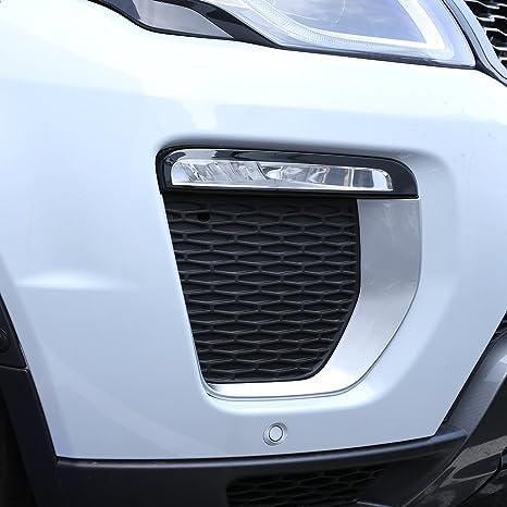 car-styling exterior accesorios luz antiniebla delantera marco embellecedor ABS cromado recién llegados 2pcs