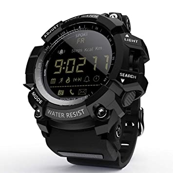 Smart Watch Bluetooth Digital Men Clock Pedometer smartwatch ...