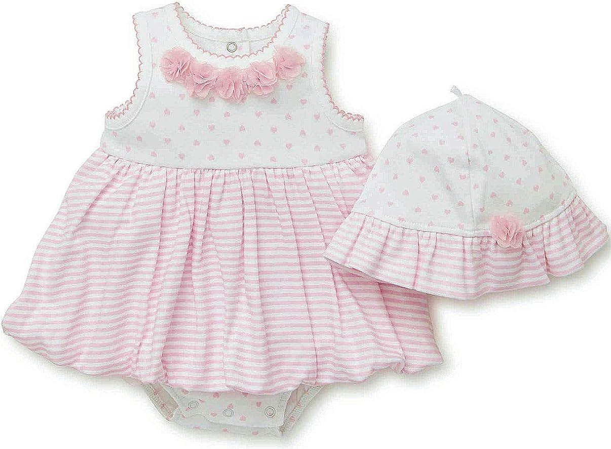 Pink Birds//Hearts Snaps Details about  /Newborn//Premie//Infant Girls Babypatch Bodysuit