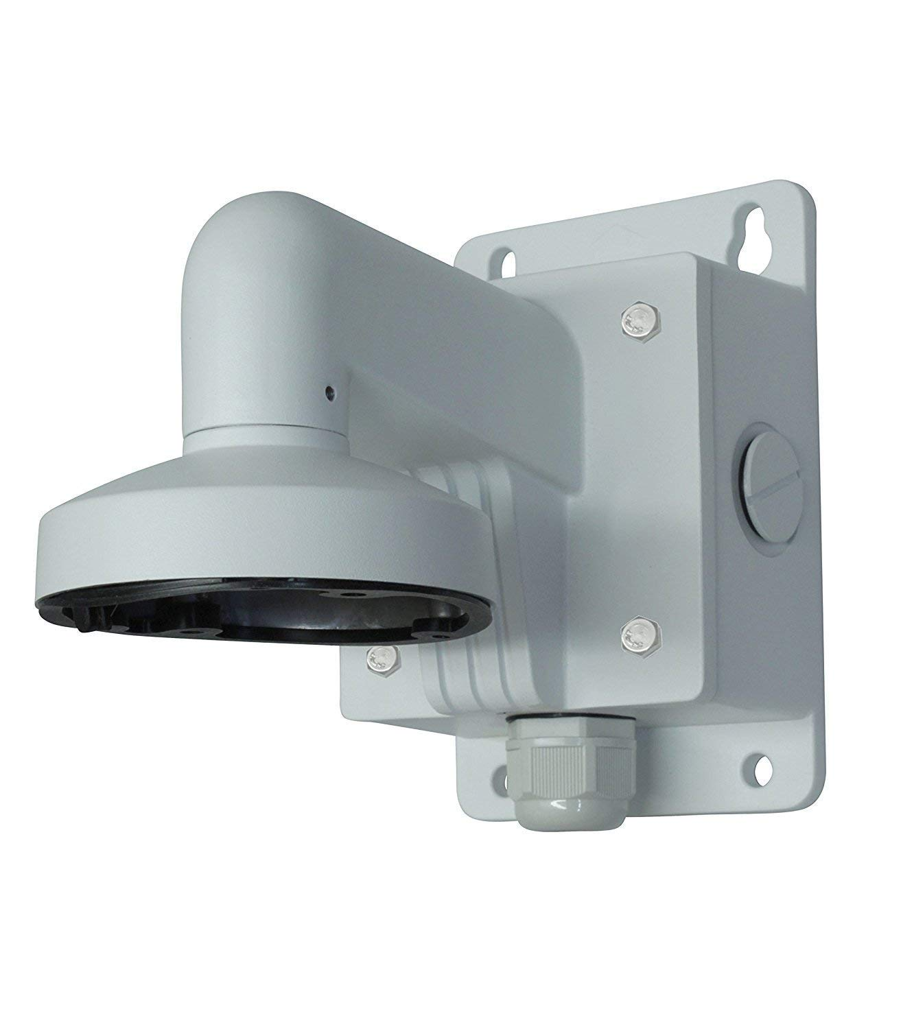 WMS WML PC110B DS-1272ZJ-110B Wall Mount Bracket for Hikvision Dome Camera DS-2CD2142FWD-I (8 Pack) by HAWK EYE SURVEILLANCE (Image #2)