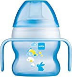 MAM Starter Cup with Soft Non Spill Spout 150 ml - Blue