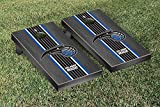 Orlando Magic NBA Basketball Regulation Cornhole Game Set Onyx Stained Stripe Version