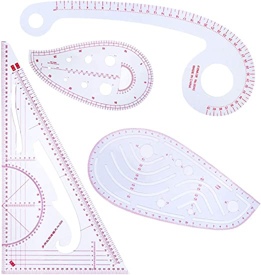 Regla de plantillas para acolchar, Haven Shop, juego de 4 piezas ...