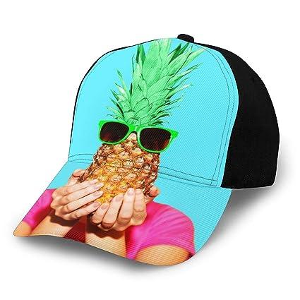Piña (4) Gorra deportiva con estampado de moda Gorra de running ...
