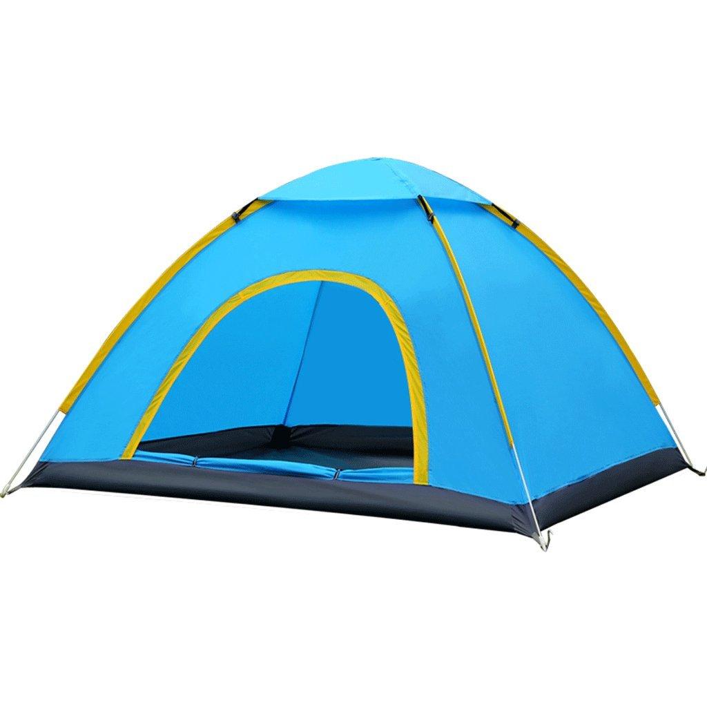 TLMY アウトドア自動テント雨速いオープン野生のキャンプ浜のテントセット テント (サイズ さいず : 3-4people) 3-4people  B07GKPYJ99