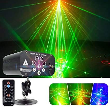 Disco Lights DJ LED Water Ripples lights Projector Party Lights Sound Activated LED Stage Lights Strobe Light Disco DJ Clubs Bar Party Lights many colors Control zphy