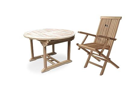 Gartenmöbel 9-tlg in Rattan-Optik klappbar Essgruppe Gartenset Tisch Klappstuhl