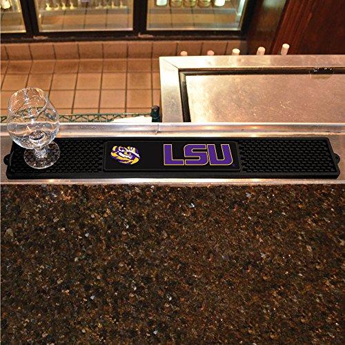 (FANMATS NCAA Louisiana State University Tigers Vinyl Drink Mat)