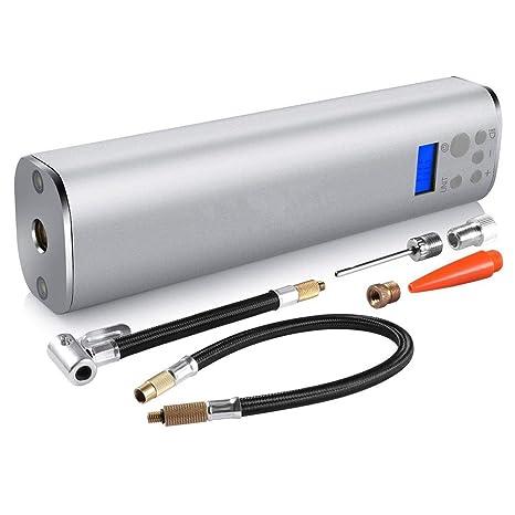 YTBLF 150 PSI Mini Bomba De Aire Compresor De Aire Portátil Bomba De Mano con Pantalla