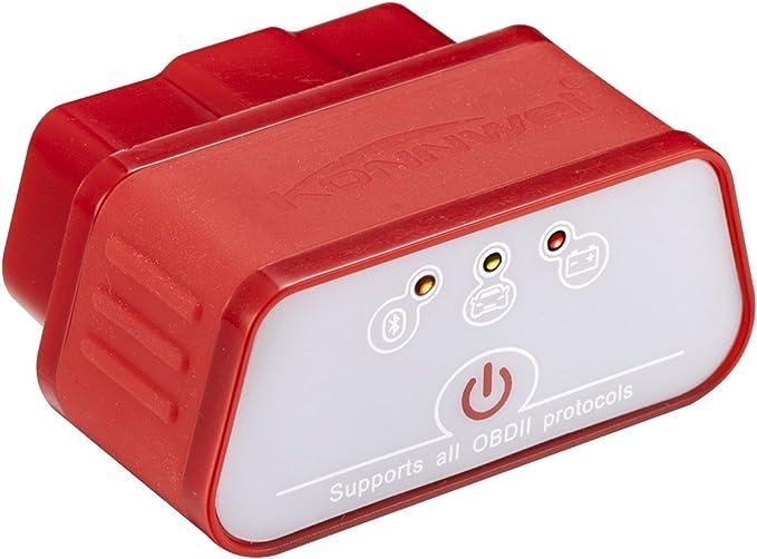 Kw903 Elm327 Bluetooth 3 0 Obd2 Ii Diagnostic Code Scanner Reader Für Speziell Für Android Handy Rot Auto