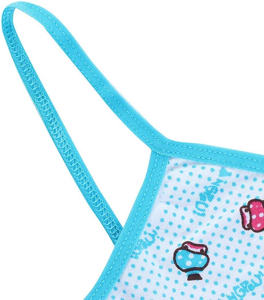 3 Pcs Teenage Girls Training Bra Kids Underwear Camisole Cotton Cartoon Panda Small Young Children Vest Bras