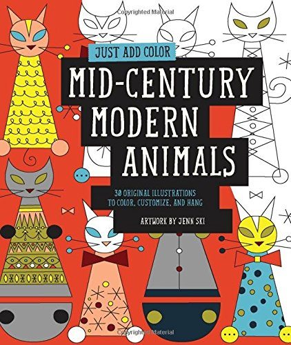 she created a series of coloring books in this style that ranges from folk art to botanicals this animal themed coloring - Books About Colors