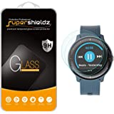 (2 Pack) Supershieldz for Garmin (Vivoactive 3 Music) Tempered Glass Screen Protector, Anti Scratch, Bubble Free