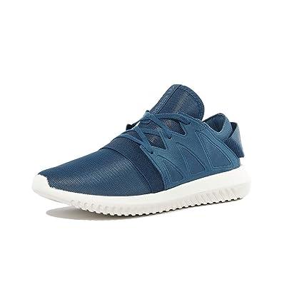 reputable site 81b45 349b5 adidas Chaussures Tubular Viral Bleu Femme Amazon.fr Chaussures et Sacs