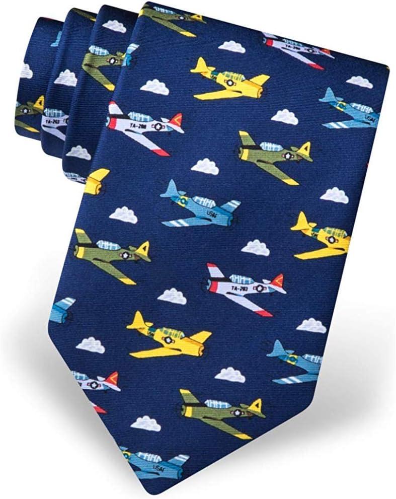 Corbata de los hombres de la Segunda Guerra Mundial Aviones de ...