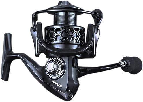 Carrete de Pesca iRegro Spinning Carretes 4.7:1 rodamientos Gear ...