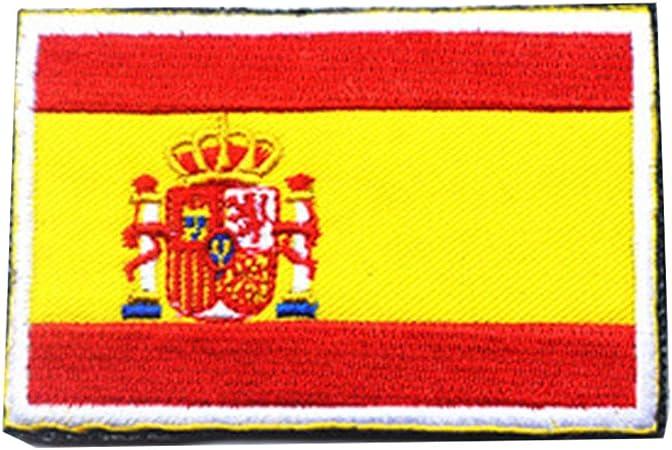 Zonfer Tácticas Bordado 3D De La Bandera De España del Brazal ...