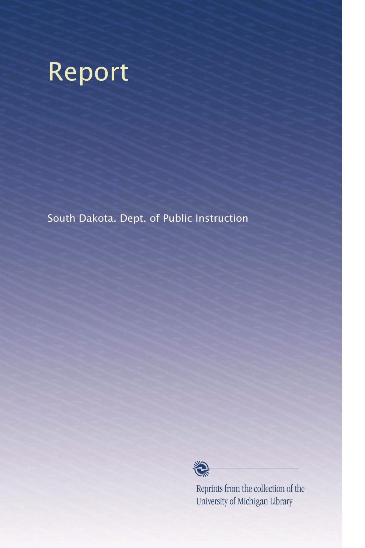 Report (Volume 7) pdf epub