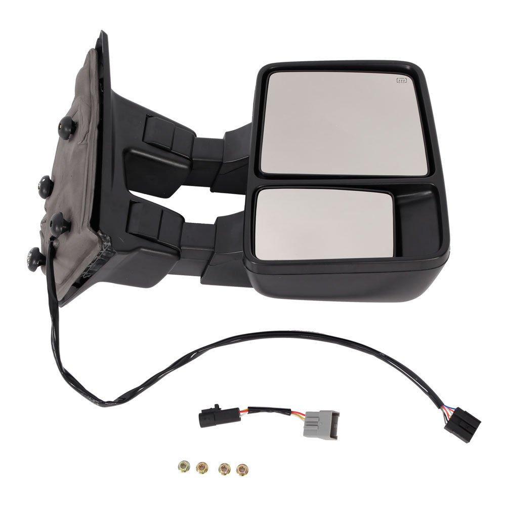 Upgrade Ford Towing Mirrors For 99 07 F250 F350 Power Mirror Switch Wiring F450 F550 Super Duty Tow Heated With Signal Light Both Driver And Passenger