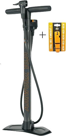 SKS Airworx 10.0 - Bomba de pie para Bicicleta, Color Gris: Amazon ...